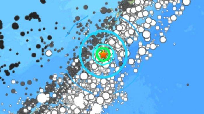 Gempa 6.1 SR Selasa 24 Agustus 2021, Episenter Berpusat di Laut, Ini Lokasinya