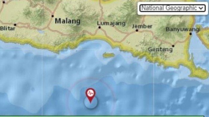 Info gempa bumi pada Sabtu 19 Juni 2021 guncang 3 daerah di Jawa Timur. Pusat gempa di laut