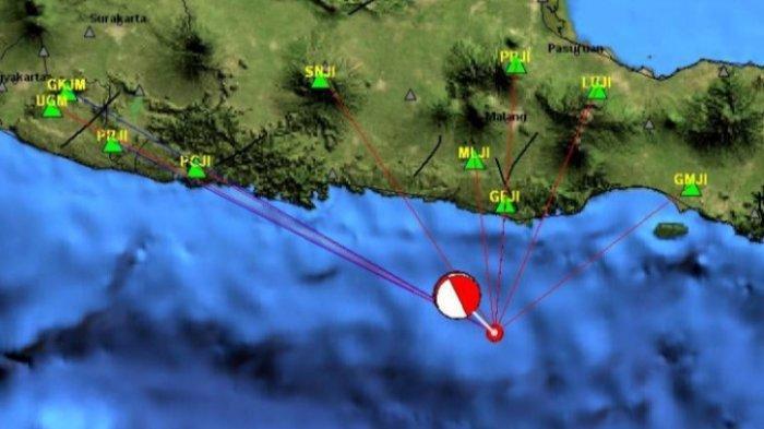 Gempa di Laut Sabtu (19/06/21) Guncang 3 Daerah Jatim, Risiko Picu Tsunami, Ini Data Magnitudo BMKG