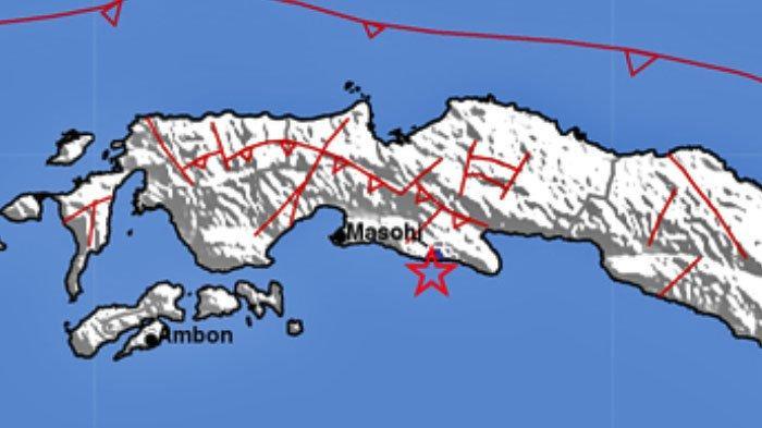 GEMPA TERKINI, Terjadi di Laut Tadi Malam, Berikut Lokasi dan Kekuatannya