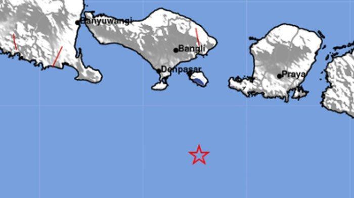 Info Gempa Bumi Terkini. Data BMKG malam ini.