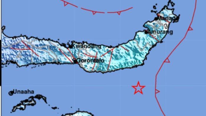 2 Kali Gempa Tadi Pagi, yang Paling Kuat Terjadi di Bolsel, Terasa di 10 Daerah