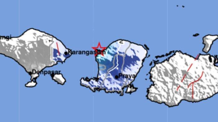 Info Gempa Bumi Terkini hari ini Jumat 4 Juni 2021 malam ini. Ini lokasi dan kekuatannya.