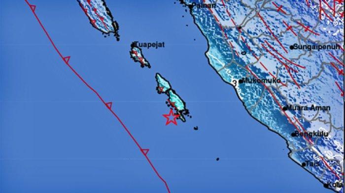 Gempa Bumi Hari Ini Minggu 18 Oktober 2020, Terjadi di Dekat Mukomuko, 3 Daerah Merasakan Guncangan