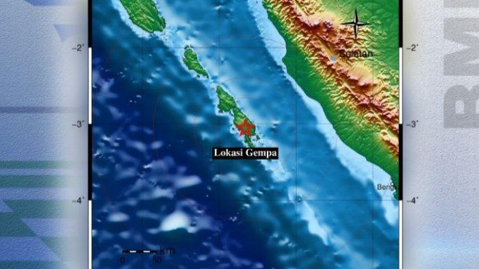 Info BMKG: Gempa Terkini Guncang Bengkulu Minggu Sore