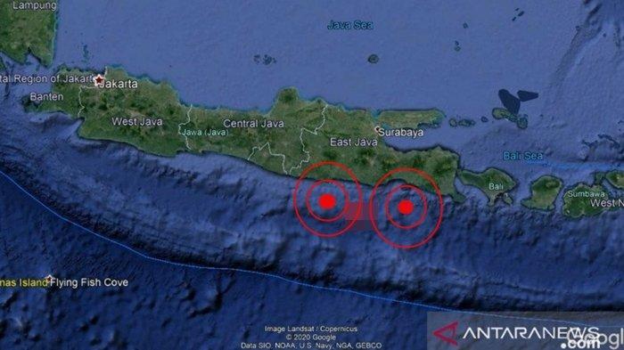 Gempa Terkini Jumat (18/06/21) Dini Hari, Dua Wilayah Bergetar, Info BMKG Magnitudo dan Lokasinya