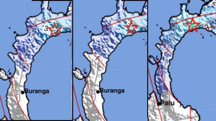 Info terbaru BMKG. Gempa bumi Minggu 29 November 2020. Ini lokasi dan kekuatannya.