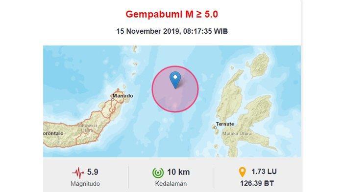 Penjelasan PVMBG Soal Gempa Magnitudo 7,1 Guncang Jailolo Maluku Utara pada Jumat 15 November