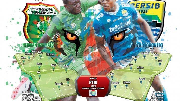 Jadwal Live Persib Bandung Vs Bhayangkara FC di Indosiar