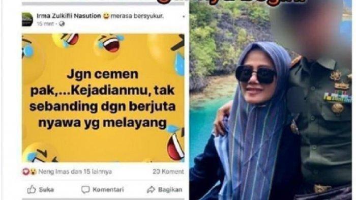 Ternyata Ini Alasan Istri Dandim Kendari Sebut Wiranto Cemen hingga Buat Suaminya Dicopot