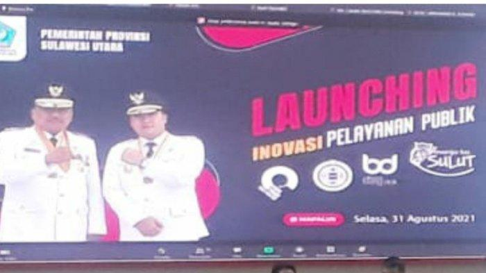 Pemerintahan Gubernur Sulawesi Utara (Sulut) Olly Dondokambey dan Wakil Gubernur Steven Kandouw meluncurkan empat aplikasi inovasi pelayanan publik.