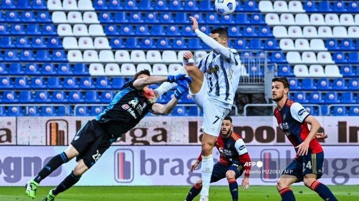 Komentar Luca Marelli Soal Aksi Ronaldo Saat Juventus Melawan Cagliari: Pantas Mendapat Kartu Merah