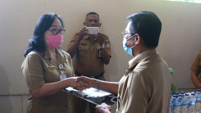 Inspektur Daerah Boltim Meike Mamahit Memasuki Purna Tugas