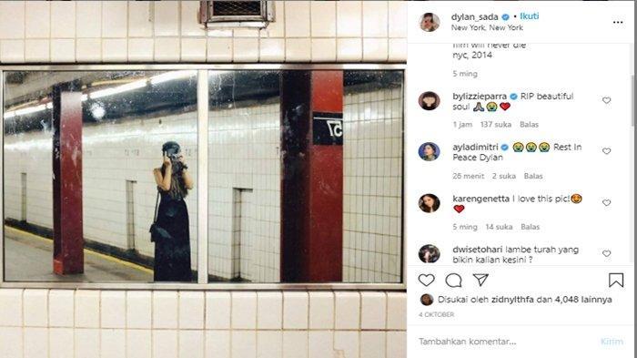 Instagram Dylan Sada dibanjiri komentar