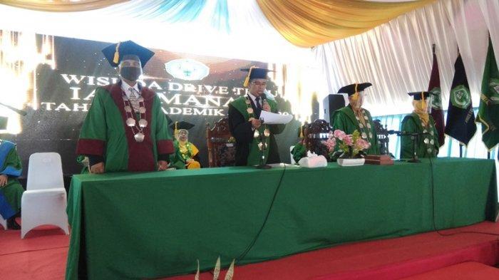 Ini Pesan Rektor IAIN Manado kepada 231 Wisudawan