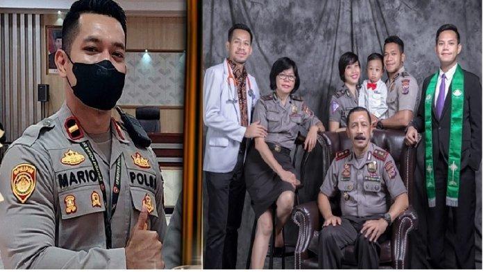 Sosok Ipda Mario Sopacoly, Polisi Tampan di Manado yang Keluarganya Polisi, Pangkat Kakek Terungkap