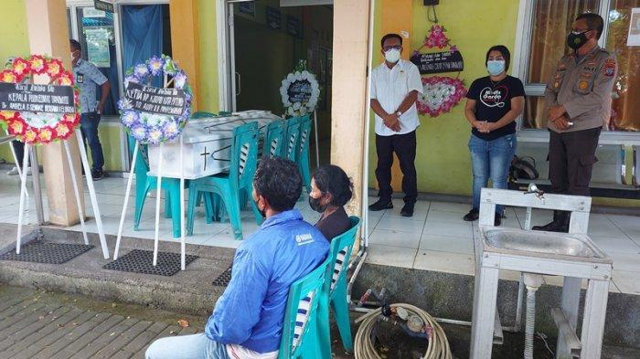 Wali Kota Bitung Maurits Mantiri Beri Penghormatan Terakhir kepada Seorang Tenaga Kesehatan