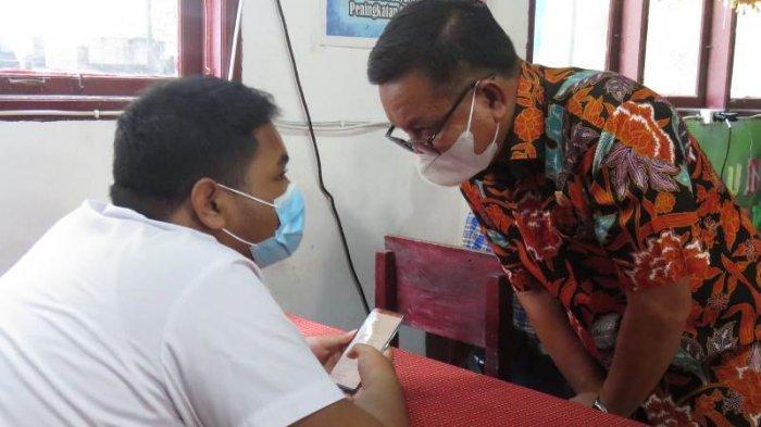 473 Siswa Ujian Pakai Handphone, Wali Kota Bitung Maurits Mantiri Apresiasi Sistem Digital