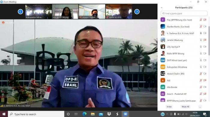 Sinergi DPD RI dan KKP, Latih UMKM Perikanandan Kelautan di Minahasa dan Minut