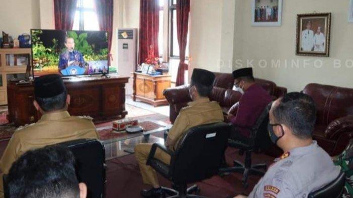 Bupati Iskandar Kamaru Beber Kiat Sukses Menangi Pilkada Bolsel di Hadapan Presiden Joko Widodo