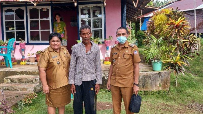 Hanyut Tiga Hari, Kakek Ismail Penjaga Rakit Asal Manado Ditemukan di Perairan Tagulandang Sitaro