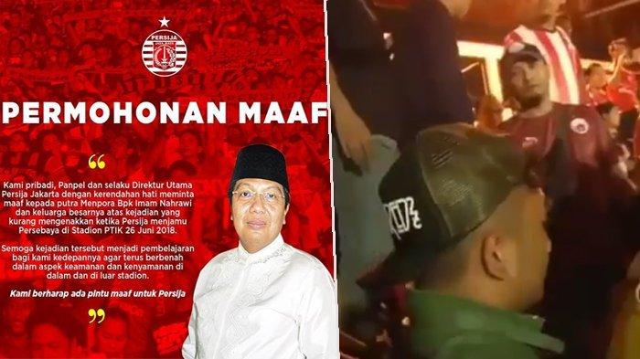 Pelaku Pemukulan Anak Menpora Dilaporkan ke Polisi, Pihak Persija Sampaikan Permohonan Maaf