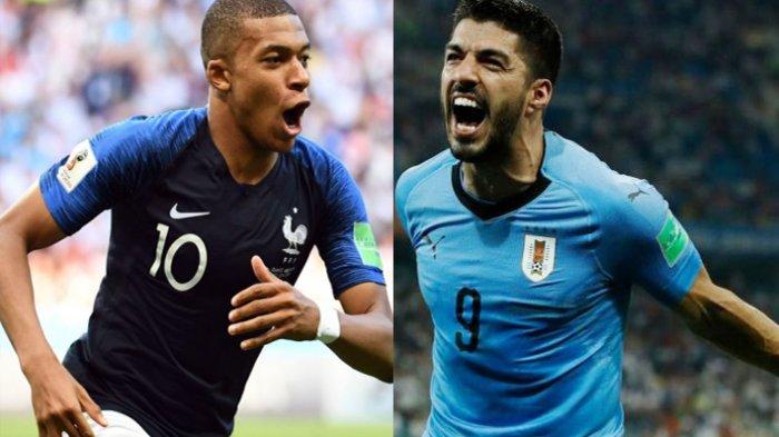 Head To Head dan Prediksi Skor Prancis Vs Uruguay: Tanpa Cavani dan Ancaman Mbappe