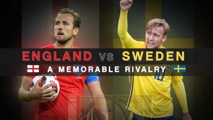 Jadwal Live dan Prediksi Inggris Vs Swedia: Tiga Singa Akan Patahkan 'Kesialan' Sang Pelatih