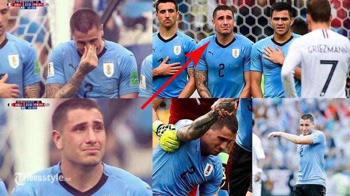 Jose Gimenez Dikritik Pedas oleh Sesama Pesepakbola, Menangis Sebelum Laga Uruguay vs Prancis Usai