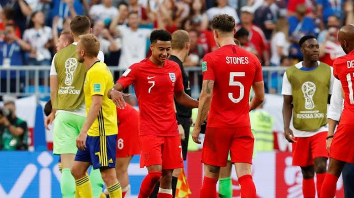 Hasil Inggris Vs Swedia: Dua Gol Sundulan Bawa Tiga Singa ke Semifinal
