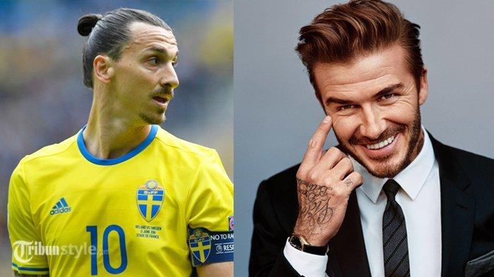 Menang Taruhan dari Ibrahimovic, David Beckham Lakukan Hal Ini, Biki Gagal Fokus