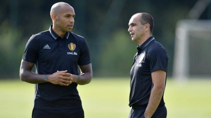 Pemain yang Bawa Prancis Juara Dunia Ada Dipihak Belgia, Thierry Henry Negara atau Perkerjaan?