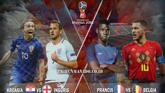Semifinal Piala Dunia 2018, Panggung Bagi Pemain Muda Berbakat, Jalan Awal Menjadi Megabintang