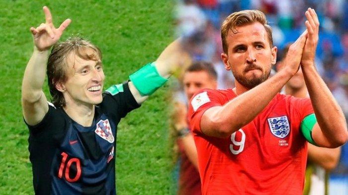 Jadwal Live Prediksi dan Head To Head Inggris Vs Kroasia: Waspada Lini Tengah dan Bola Mati