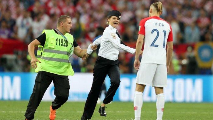 Kronologi Masuknya Tamu tak Diundang di Lapangan Saat Final Piala Dunia, Tujuannya untuk Hal Ini