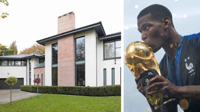 Bersinar di Piala Dunia, Intip Kemewahan Rumah Paul Pogba Seharga Rp 55 Miliar