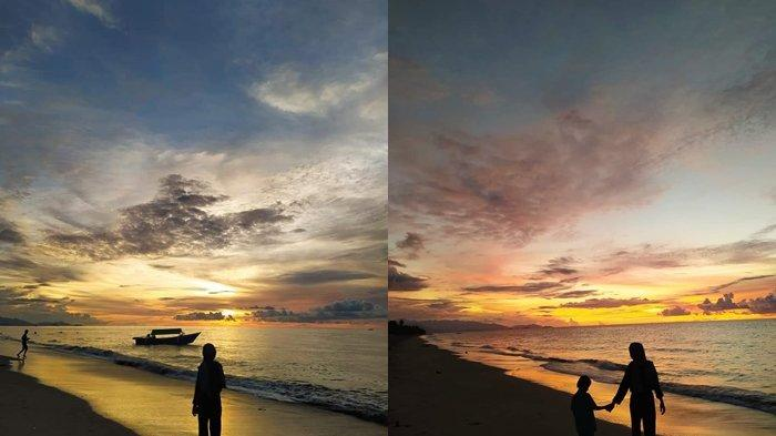 Pantai Bungin di Kabupaten Bolmong, Tempat Terbaik Bagi Pecinta Senja