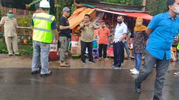 DPRD Kotamabagu Sidak Pembangunan Jalan di Gogagoman, Temukan Pekerjaan Amburadul