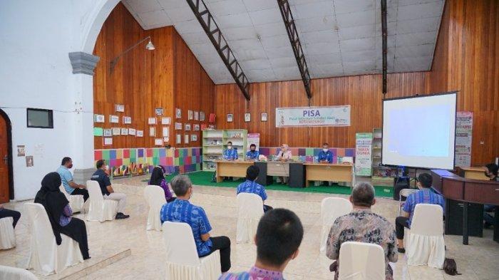 Kunker ke 5 OPD, Wali Kota Kotamobagu Tatong Bara Minta Tingkatkan Kolaborasi