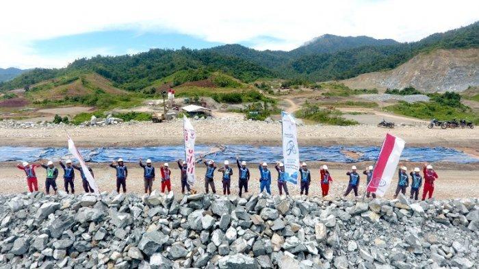 Ditargetkan Selesai Akhir 2021, Bendungan Lolak Bolmong Bakal Diresmikan Presiden Joko Widodo