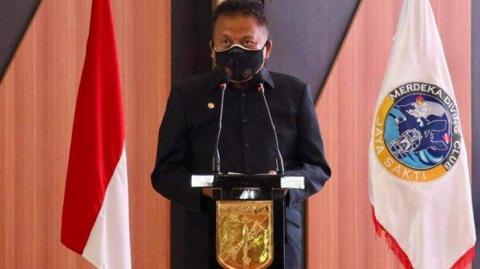 PPKM Diperpanjang Lagi, 12 Daerah di Sulut Level II, Gubernur Olly Dondokambey: Kasus Covid Menurun