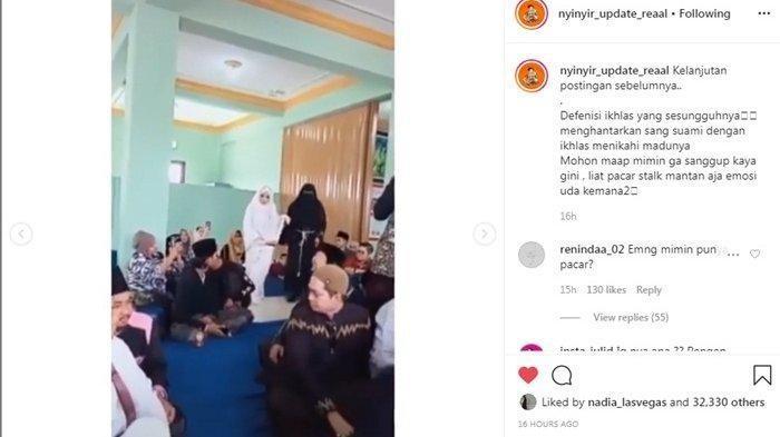 VIDEO Istri Antar Suaminya Nikah dengan Wanita Lain, Mertuanya Bercucuran Air Mata: Perjuangan