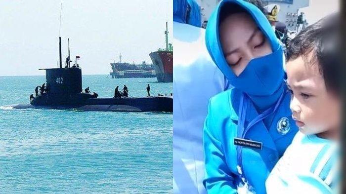 Tabur Bunga, Istri Serda Dwi Nugroho Berusaha Tegar, Tangis Pecah Lihat Reaksi sang Anak
