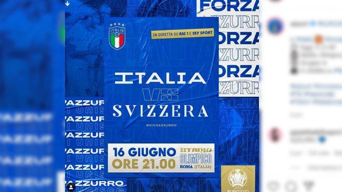 Italia VS Swiss, Ada Peringatan untuk Gli Azzurri, Potensi Ancaman dari Tim Lawan