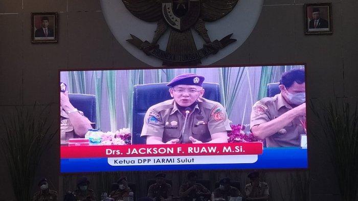 Jackson Ruaw terpilih sebagai Ketua Umum Dewan Pimpinan Provinsi (DPP) Ikatan Alumni Resimen Mahasiswa Indonesia (IARMI) Provinsi Sulut.