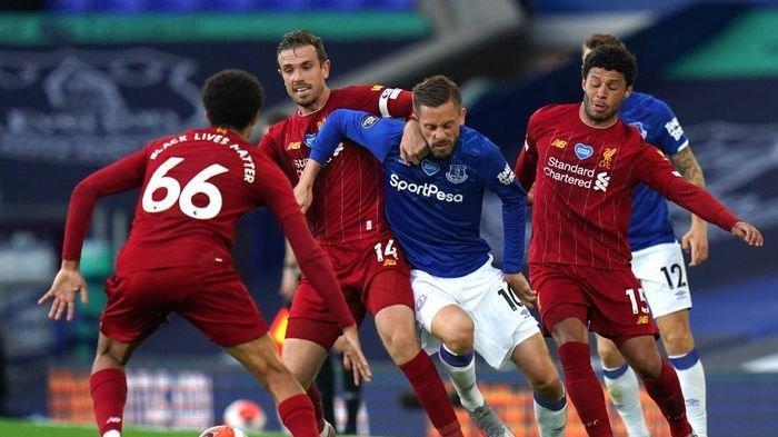 HASIL Liverpool vs Everton Tak Berdaya, The Reds Dipermalukan di Laga Derbi Merseyside