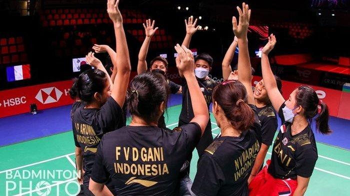 Jadwal Piala Uber 2020 Indonesia vs Jepang, Laga Pamungkas Grup A