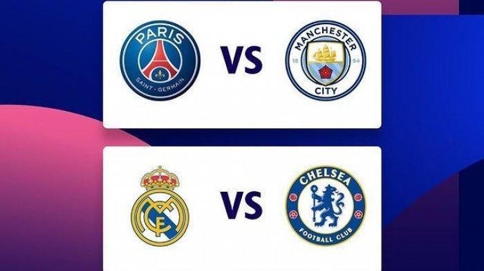 Jadwal Semifinal Liga Champions 2021, Hasil Drawing Real Madrid Vs Chelsea, PSG Vs Manchester City
