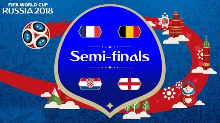 Bukti Layaknya Inggris, Prancis, Kroasia dan Belgia di Semifinal