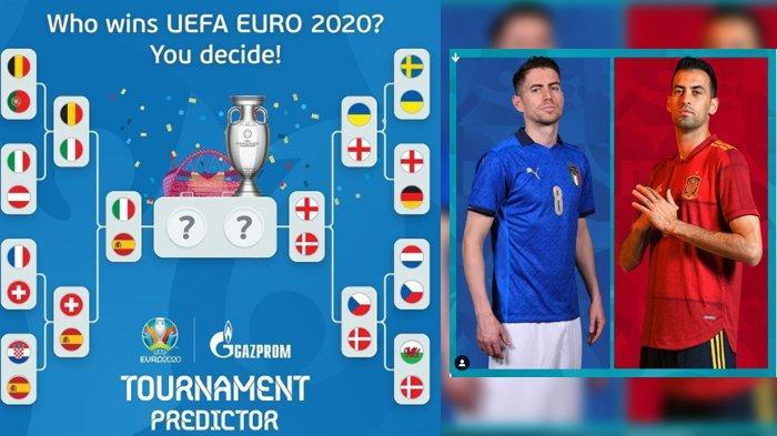 KABAR BURUK Jelang Semifinal Euro 2020, Italia vs Spanyol, Cidera Hantam Pemain Andalan Dua Tim